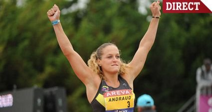 Mathilde ANDRAUD : Championne de France Elite